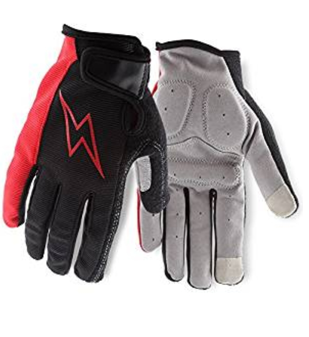 URPOWER Cycling Gloves Bike Gloves Bicycle Gloves Breathable Touch Recognition Full Finger Road Racing Gloves Mountain Bike Gloves Light Outdoor Gel Pad Riding Gloves for Men/Women